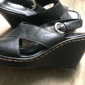 boc Shoes - BOC Leather Wedge